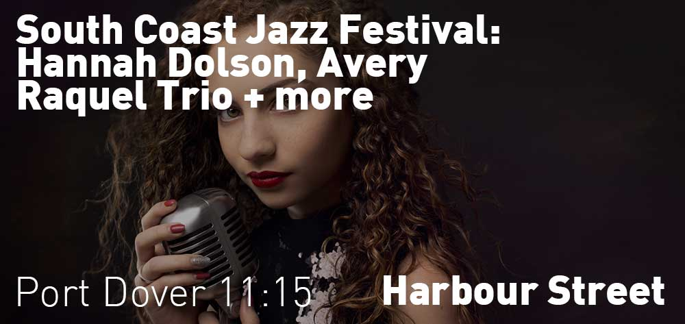 South Coast Jazz Festival | Harbour Street - Riverfront Park | August 18th and 19th, 2017