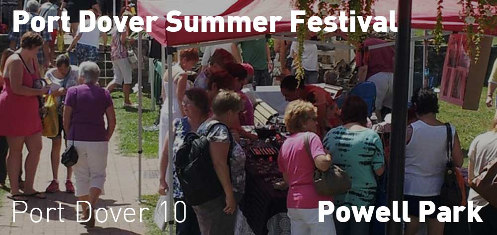 Port Dover Summer Festival. August 19th and 20th at 10am each day.