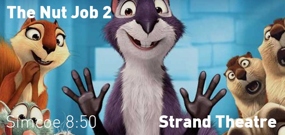 The Nut Job 2 | Strand Theatre | Playing This Friday Aug 11 - August 17, 2017